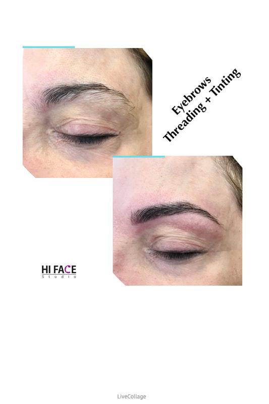 Eyebrow And Eyelash Tinting Hi Face Studio