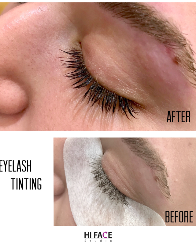 Eyebrow And Eyelash Tinting Hi Face Studio